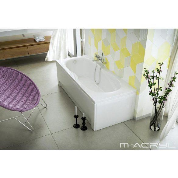 M-Acryl Klara egyenes akril kád 180x80