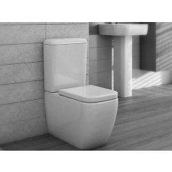 AREZZO design Ohio kombi wc alsós/hátsó kifolyású, ülőke nélkül