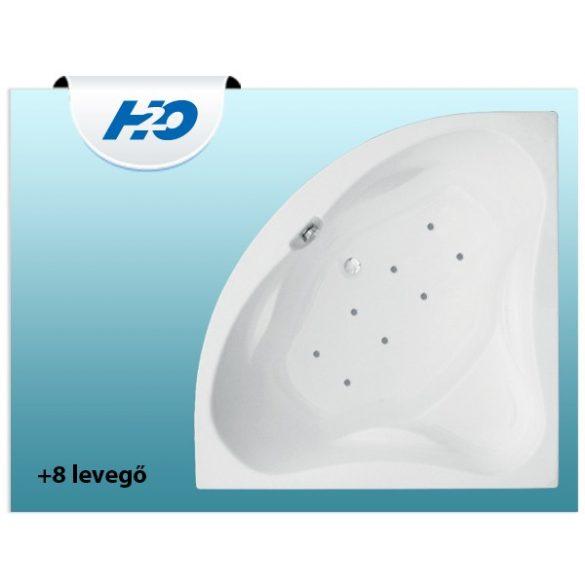 H2O +8 levegő fúvókás pezsgőfürdő