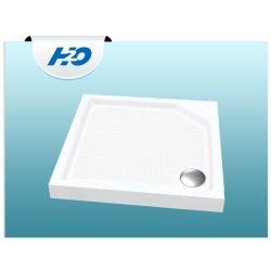 H2O Zénó SLIM  90x90 szögletes zuhanytálca szifonnal