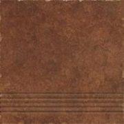 Riva  brown lépcső 33x33