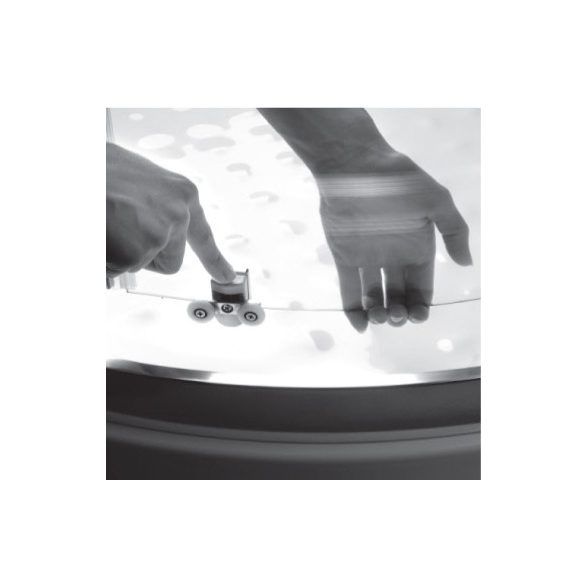 H2O Projecta íves kabin 90x90 átlátszó, vagy fabrik üveggel