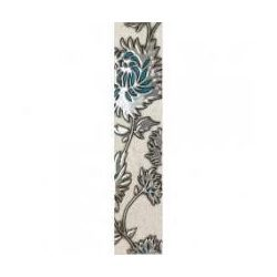 GRIS FLOWER TURKUS 36X7,4 LIST.