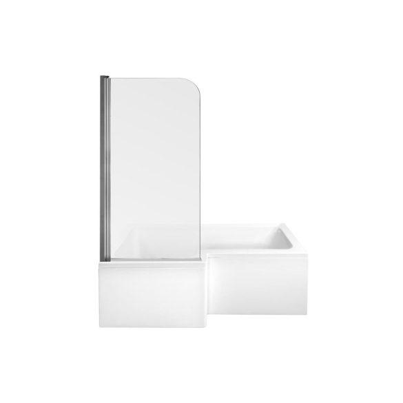M-Acryl Linea aszimmetrikus akril kád