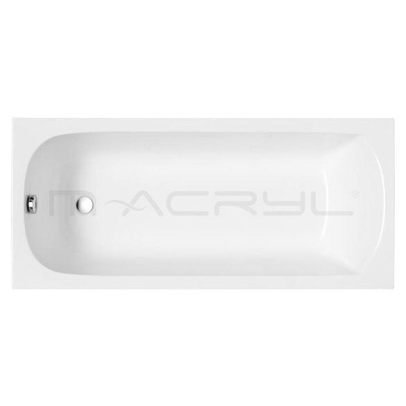 M-acryl Mira egyenes akril kád
