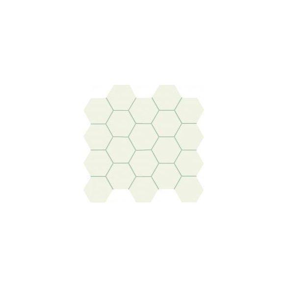 All in white - white fali mozaik 24,8x30,6