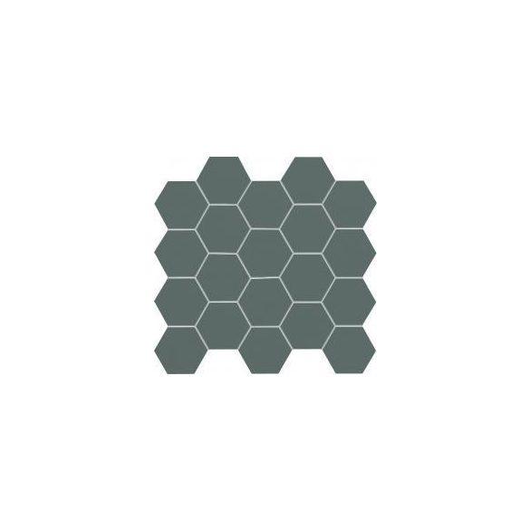 All in white -grey fali mozaik 24,8x30,6