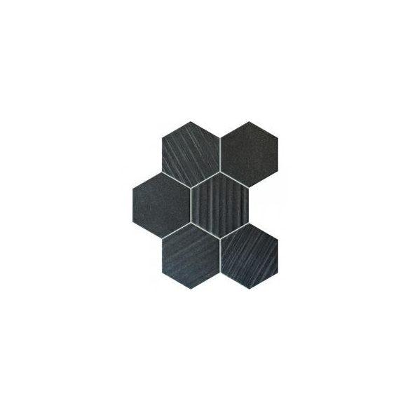 Horizon hex black 28,9x22,1 mozaik