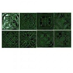 Tubadzin Tinta green 14,8x14,8 dekor