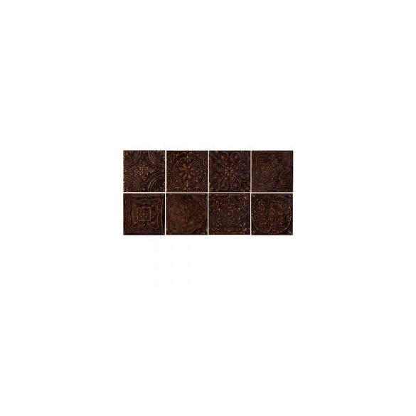 Tubadzin Tinta brown 14,8x14,8 dekor