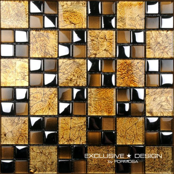EXCLUSIVE ÜVEG MOSAIC 8 mm No.35