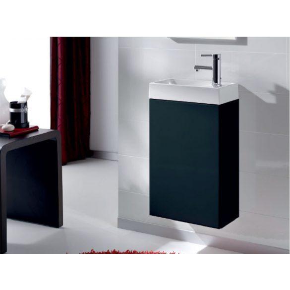 AREZZO Mini 40 egyajtós antracit alsószekrény mosdóval