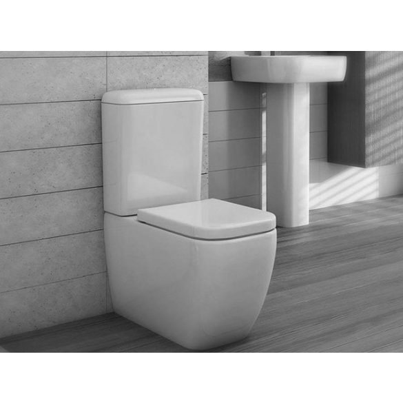 AREZZO design Ohio kombi wc alsós/hátsó kifolyású, ülőke nélkül AR-202 ( 2 doboz )