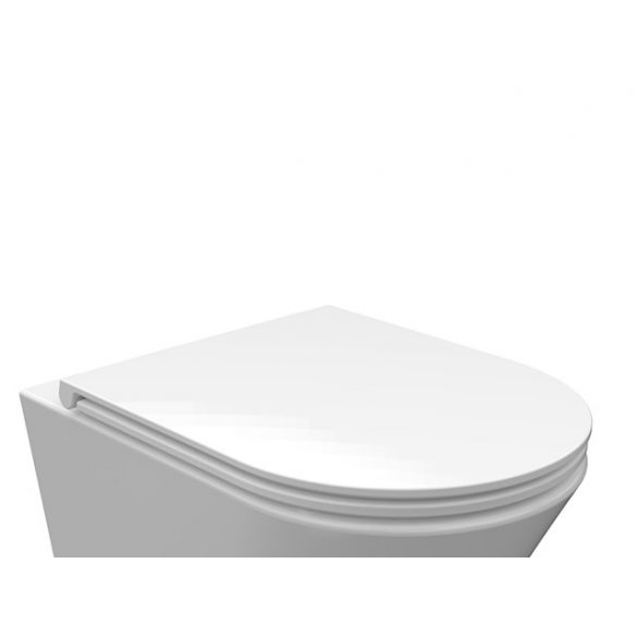 AREZZO design Indiana Slim Soft Close lecsapódásgátlós WC tető AR-ISCSLIM