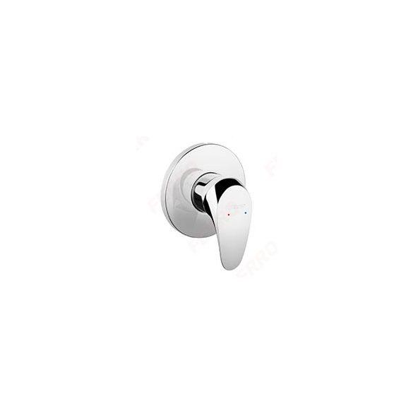 FERRO ONE - Falsík alá építhető zuhanycsaptelep