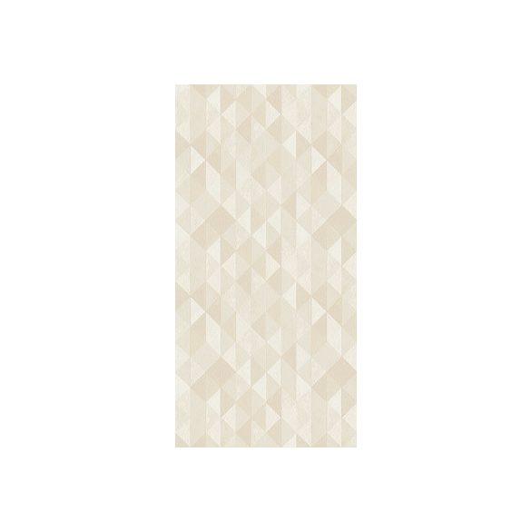 Paradyz dekorcsempe Paradyz Domus beige triangle dekorcsempe