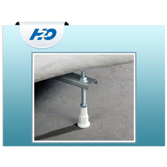 H2O Kádláb peremrögzítő szettel