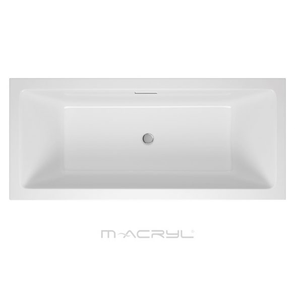 M-acryl Sabina Pro egyenes akril kád - 160x75 cm -170 L - többféle méret