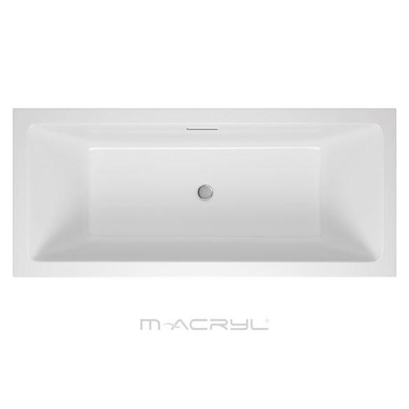 M-acryl Sabina Pro Slim egyenes kád - 160x75 cm -170 L - többféle méret