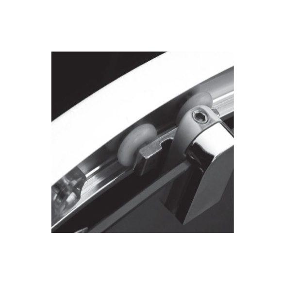 H2O Projecta íves kabin 80x80 átlátszó, vagy fabrik üveggel